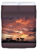 Okinawa Sunset Duvet Cover