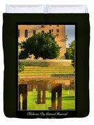 Oklahoma City National Memorial Duvet Cover