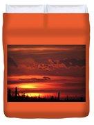 Oklahoma Sky At Daybreak  Duvet Cover