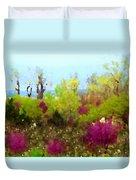 Oklahoma Spring Colors Duvet Cover