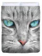 Ol' Blue Eyes Duvet Cover