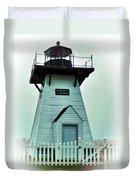 Olcott Lighthouse Duvet Cover