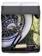 Old Air Pump Duvet Cover