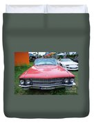 Old American Car Duvet Cover