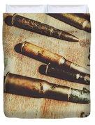 Old Ammunition Duvet Cover
