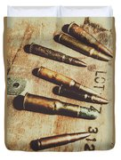 Old Ammunition Duvet Cover