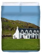 Old And New Iona Architecture Duvet Cover