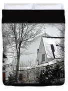 Old Andersson Farmstead Duvet Cover
