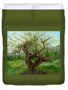 Old Apple Tree Duvet Cover