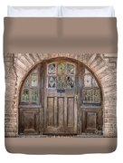 Old Archway And Door Duvet Cover