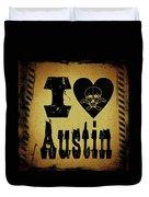 Old Austin Duvet Cover