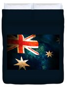 Old Australian Flag Duvet Cover