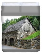 Old Austrian Barn Duvet Cover