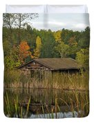 Old Bait Shop On Twin Lake_9626 Duvet Cover