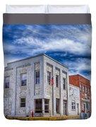Old Bank Building - Peterstown West Virginia Duvet Cover