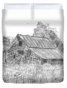 Old Barn 4 Duvet Cover by Barry Jones