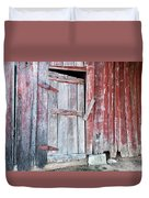 Old Barn Door Duvet Cover