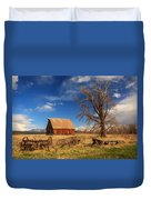 Old Barn In Chester Duvet Cover