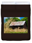Old Barn In Roxborough Duvet Cover