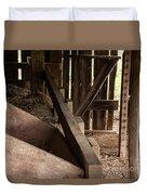 Old Barn Interior Duvet Cover