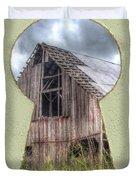 Old Barn Keyhole Duvet Cover