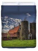 Old Barn Near Sedalia Mo Dsc01900 Duvet Cover