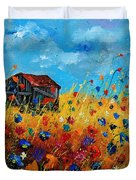 Old Barn  Duvet Cover by Pol Ledent
