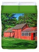 Old Barn Ridge Li.ny Duvet Cover