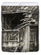 Old Barn Ruin 3 Duvet Cover
