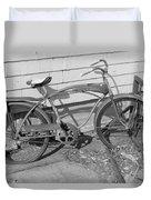 Old Bike Duvet Cover