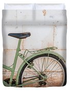 Old Bike Duvet Cover