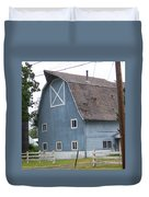 Old Blue Barn Littlerock Washington Duvet Cover