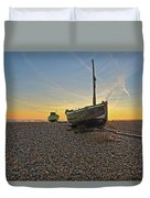 Old Boat, New Day Duvet Cover