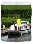 Old Boat Duvet Cover