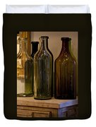 Old Bottles Duvet Cover