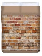 Old Brick Wall Duvet Cover