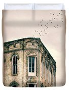 Old Building Duvet Cover