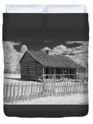 Old Cabin Ir Duvet Cover