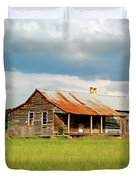 Old Cabin Duvet Cover