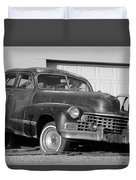 Old Cadillac Duvet Cover