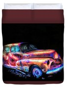 Old Car 2 Duvet Cover