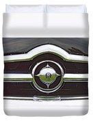 Old Car Grille Duvet Cover