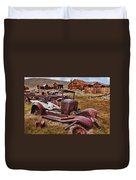 Old Cars Bodie Duvet Cover