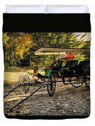 Old Cart - Old Movie Edition Duvet Cover