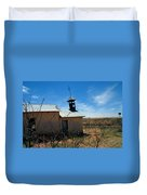 Old Chapel On Route 66 In Newkirk Nm Duvet Cover