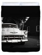 Old Chevy Connecticut Duvet Cover
