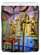 Old Church Altar Duvet Cover