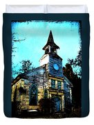 Old Church At Oxford Maryland Duvet Cover