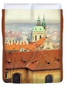 Old Church In Prague Duvet Cover