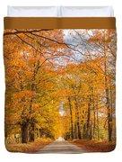 Old Coach Road Autumn Duvet Cover
